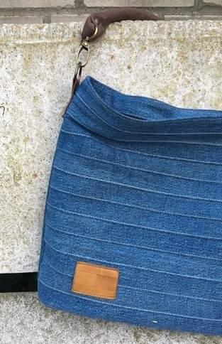 Makerist - Chobe Bag - Meine alte Jeans und neues Leder für meine neue Lieblingstasche! - 1