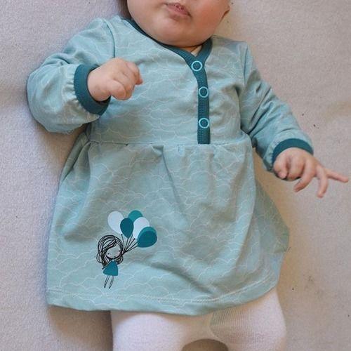Makerist - Babytunika mit Plott Fly away - Nähprojekte - 1