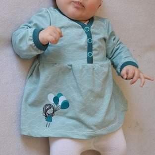 Makerist - Babytunika mit Plott Fly away - 1