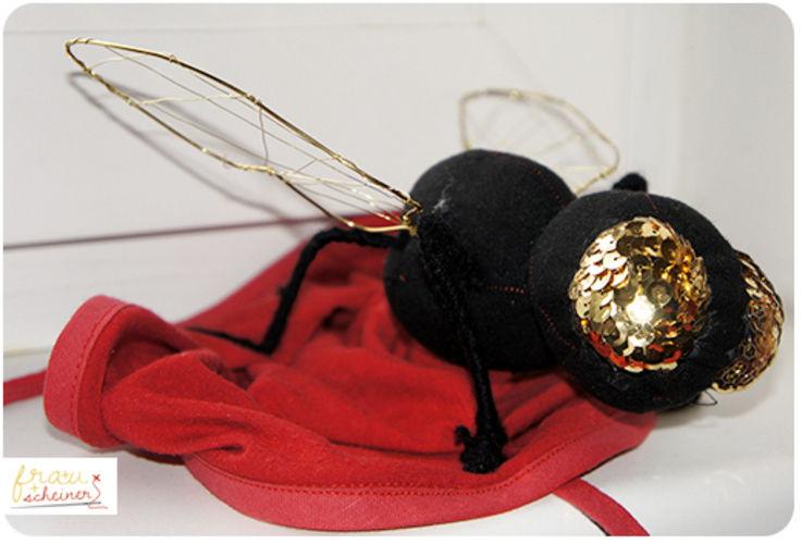Makerist - Fliegenpilz Kostüm mit Fliege - DIY-Projekte - 1