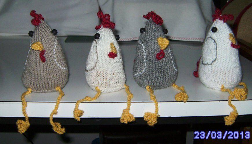 Makerist - Meine Hühner - Strickprojekte - 1