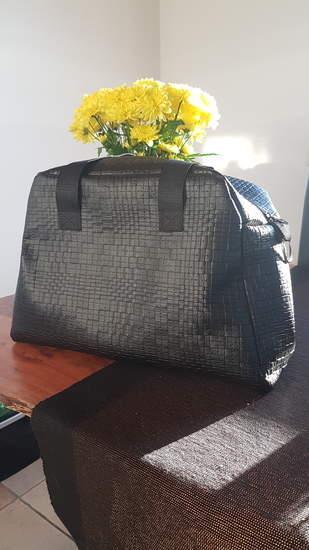 Wickeltasche MiLana aus Kunstleder in XL