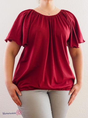Makerist - Ein luftigleichtes Shirt für den Sommer - Nähprojekte - 1