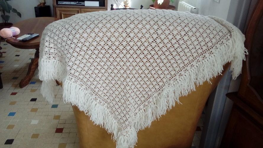 Makerist - châle en coton pour femme - Créations de crochet - 1