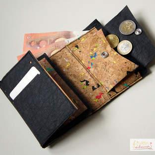 Makerist - Portemonnaie aus SnapPap Plus und Korkstoff - 1