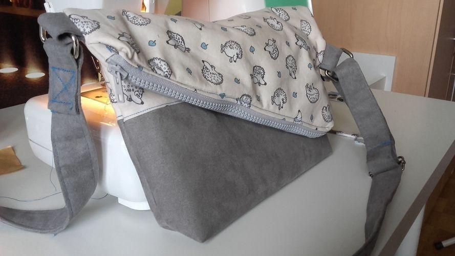Makerist - Foldover Tasche - Nähprojekte - 1