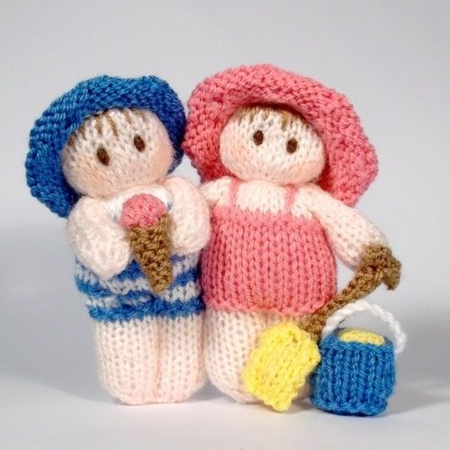 Makerist - Bitsy Beach baby dolls - Knitting Showcase - 1
