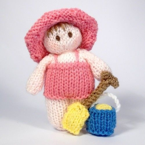 Makerist - Bitsy Beach baby dolls - Knitting Showcase - 2