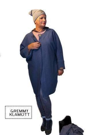 Makerist - Meine Frau AVA, aus Walkstoff, in einem trendigen Jeansblau, für trendige Frauen - 1