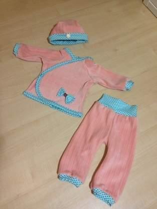 Makerist - Erstlingsset Luis, Babyset - 1