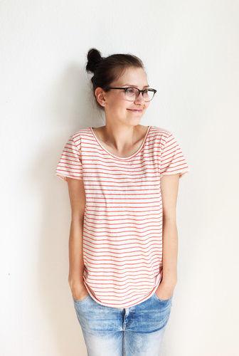 Makerist - Luftiges Sommershirt aus Jersey - Nähprojekte - 2