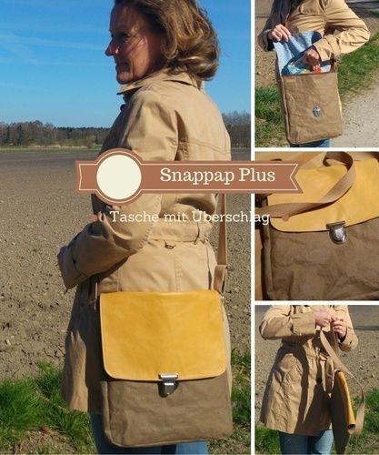 Makerist - Nähanleitung: Snappap Plus Tasche mit Steckschloß - Nähprojekte - 3