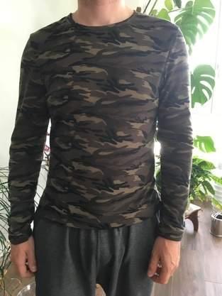 Camo Shirt aus Jersey für mein Herzblatt