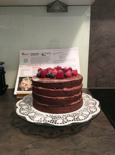 Makerist - Meine erste Schoko Naked Cake zum Muttertag - Torten, Cake Pops und Cupcakes - 1