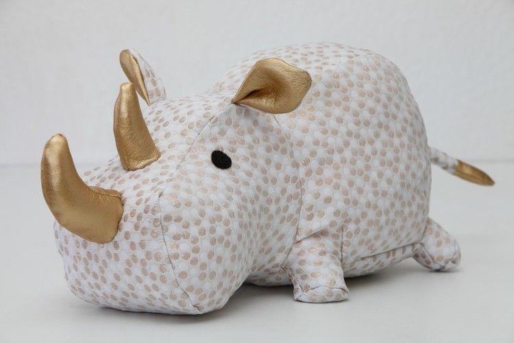 Makerist - Rhinocéros réalisé avec le patron DIY Fluffies - Créations de couture - 3