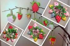 Makerist - Osterdeko - Erdbeeren - 1