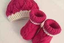 Makerist - Mütze und Schuhe aus Merino-Cotton-mix - 1