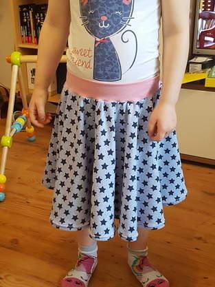Tellerrock für meine Tochter