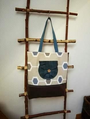 Tasche #Resteverwertung#
