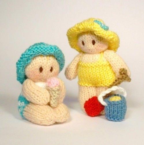 Makerist - Bitsy beach baby dolls - Knitting Showcase - 1