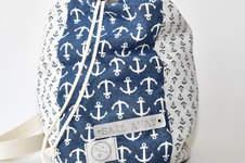 """Makerist - Matchbeutel """"Sail Away"""" oder ein Strandbeutel für den Urlaub - 1"""