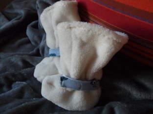 Babystiefel  für meinen kleinen Enkel  in versch. Fell, Nicky, Jerse, Fleece