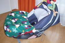 Makerist - Babyschalen Decke  und Kinderwagen Muff eigener Entwurf für meinen 1. Enkel  - 1