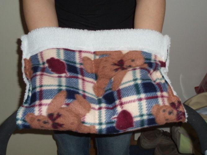 Makerist - Babyschalen Decke  und Kinderwagen Muff eigener Entwurf für meinen 1. Enkel  - Nähprojekte - 2