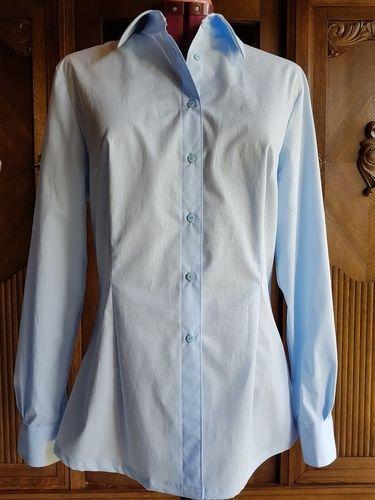 Makerist - klassische Hemdbluse nach Mias Anleitung - Nähprojekte - 1