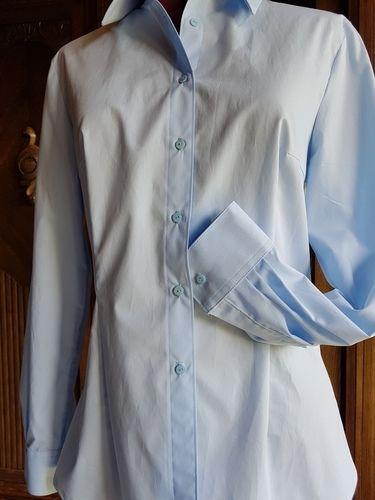 Makerist - klassische Hemdbluse nach Mias Anleitung - Nähprojekte - 2