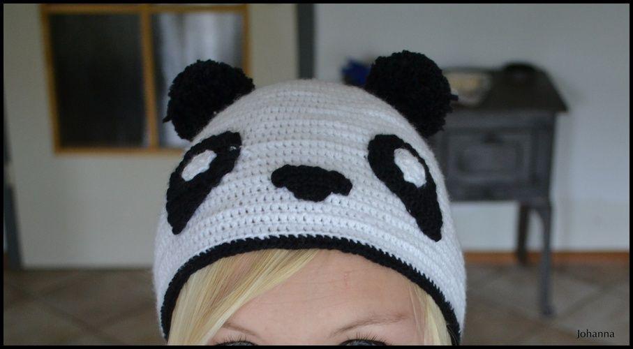 Makerist - ein Panda - Häkelprojekte - 1