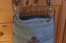 Makerist - Jeans upcycling Tasche mit Ankern ⚓️ - 1
