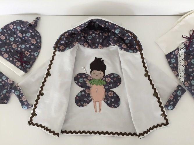 Makerist - Babyset kleine Blütenfee aus Baumwolljersey für Mädchen in Größe 62/68.  - Nähprojekte - 2