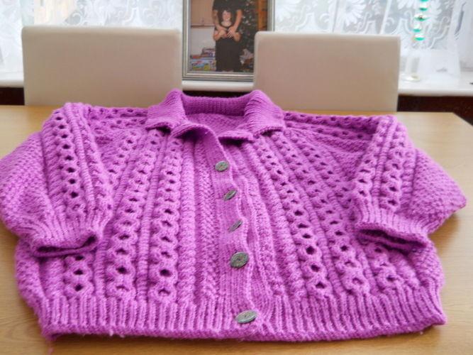 Makerist - Blanket and aran jackets. - Knitting Showcase - 1