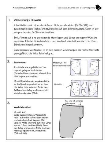 Makerist - Pumphose und Spielhose - Nähprojekte - 3
