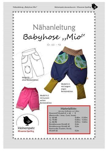 """Makerist - Hose """"Mio"""" - Nähprojekte - 2"""