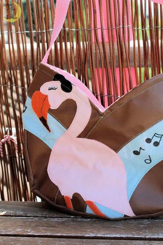 Makerist - Eine Tulipa mit rockendem Flamingo - Nähprojekte - 2