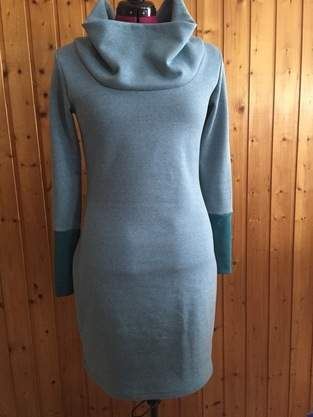 Makerist - kuscheliges Sweatkleid - 1