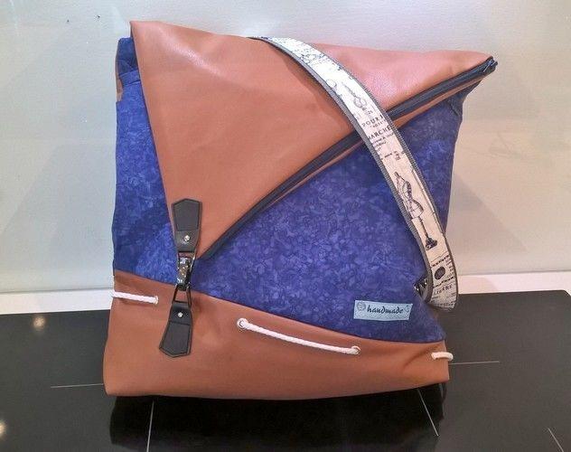 Makerist - Handtaschenrucksack für mich :) - Nähprojekte - 1