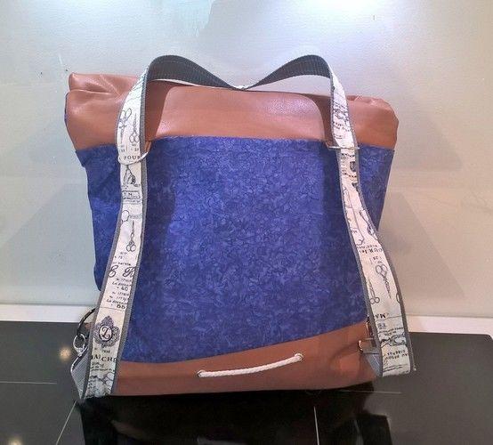 Makerist - Handtaschenrucksack für mich :) - Nähprojekte - 2