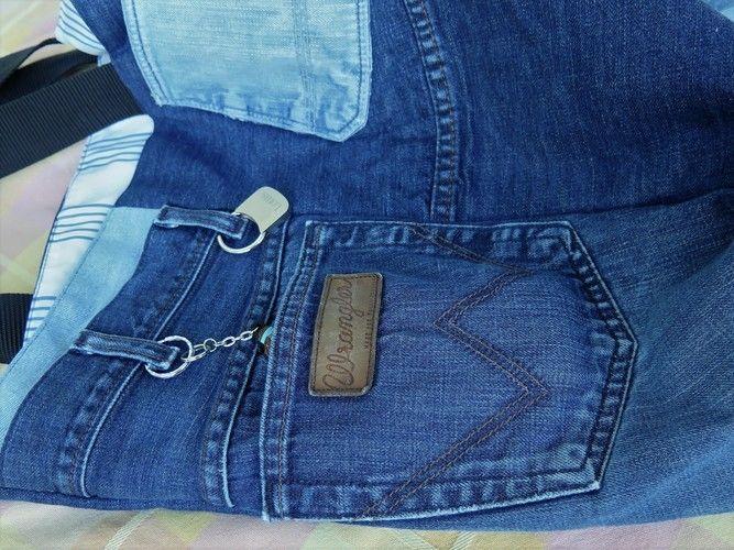 Makerist - Tasche aus alter Jeans - Nähprojekte - 2