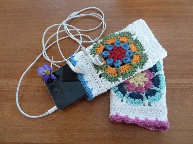 Makerist - Ebook i-Phone / i-Pod Tasche - Häkelprojekte - 3