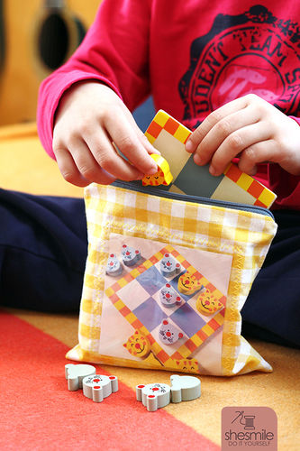 Makerist - Spielbeutel Zipverpackt - Nähprojekte - 1