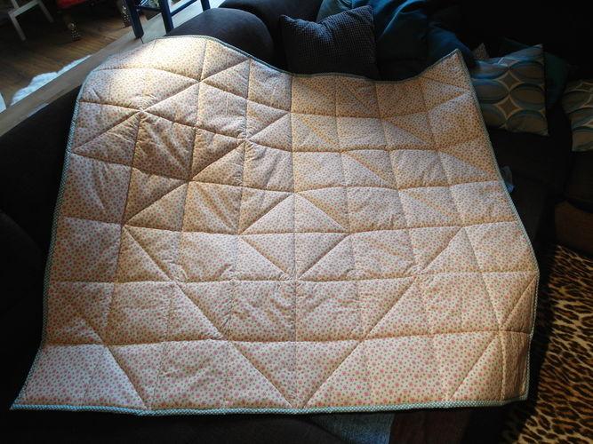 Makerist - Erste Quiltdecke für Omas Enkel - Patchwork-Projekte - 2