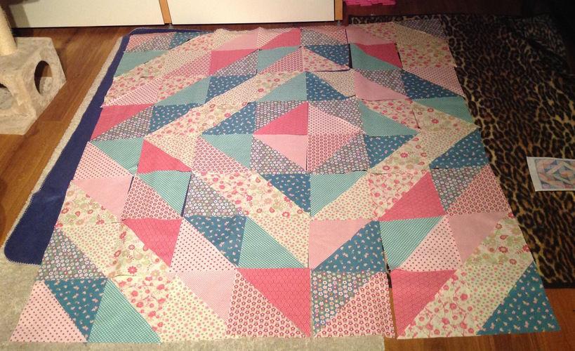 Makerist - Erste Quiltdecke für Omas Enkel - Patchwork-Projekte - 3