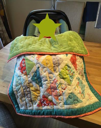 Makerist - Babyschalen Quilt - Patchwork-Projekte - 3