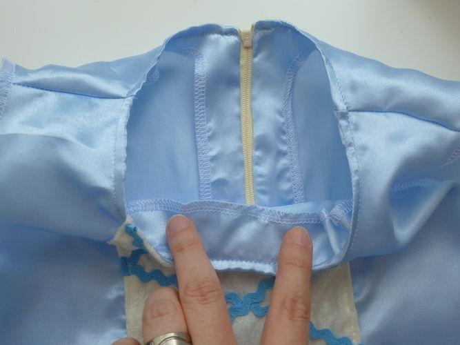 Makerist - Verdeckten Reißverschluss in ein Kleid einnähen - Nähprojekte - 2