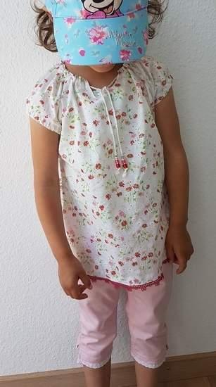 Makerist - Bluse mini Selma Gr. 110/116 - 1