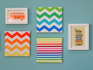 Makerist - Stoffbilder fürs Kinderzimmer - 1