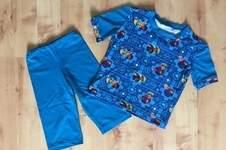 Makerist - ein Sommerschlafanzug mit Kurzarm - 1